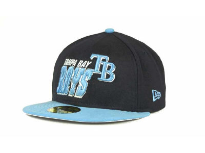 Tampa Bay Rays MLB Fit It Back 59FIFTY Cap Hats