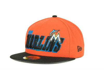 Miami Marlins MLB Fit It Back 59FIFTY Cap Hats