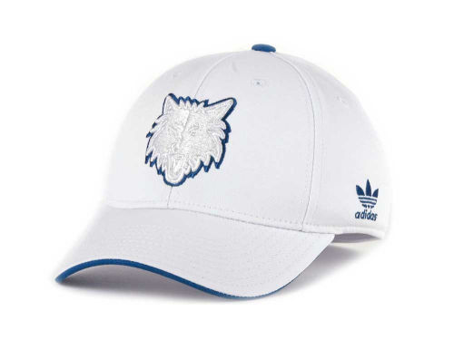 Minnesota Timberwolves NBA White Swat IV Cap Hats