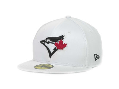 Toronto Blue Jays MLB White And Black 59FIFTY Hats