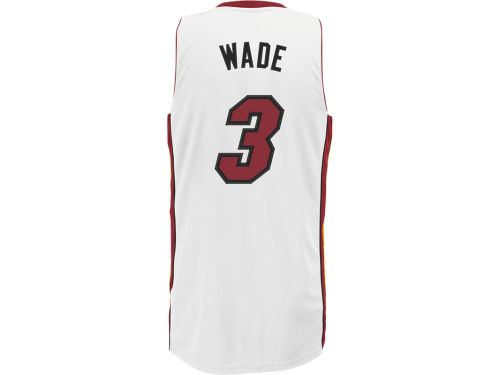 Miami Heat Dwayne Wade NBA Revolution 30 Swingman Jersey