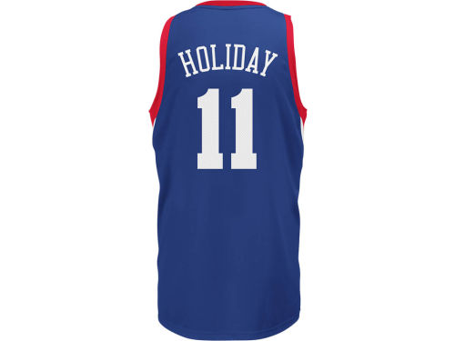 Philadelphia 76ers Jrue Holiday NBA Revolution 30 Swingman Jersey