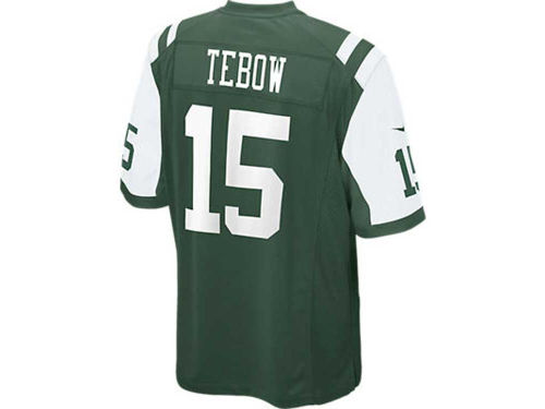 New York Jets Tim Tebow Nike NFL Game Jersey