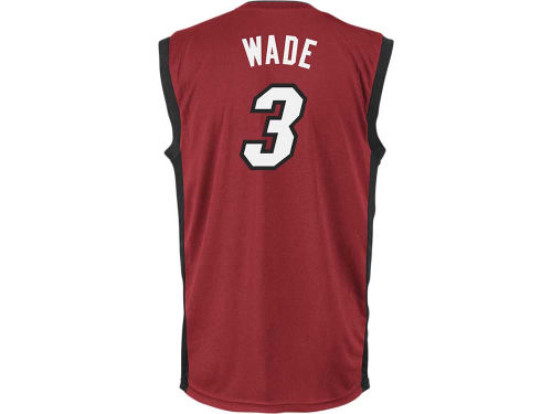 Miami Heat Dwyane Wade NBA Rev 30 Replica Jersey
