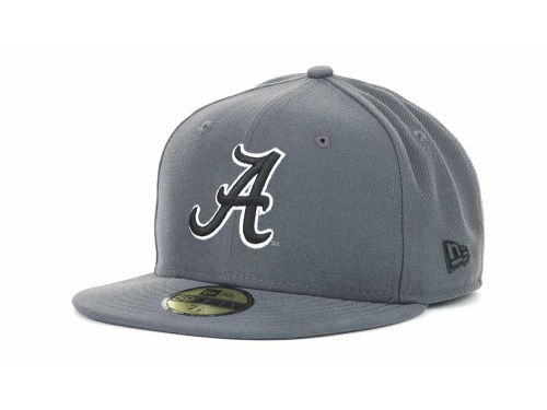 Alabama Crimson Tide New Era 59FIFTY NCAA Graph BG Cap Hats