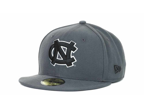 North Carolina Tar Heels New Era 59FIFTY NCAA Graph BG Cap Hats