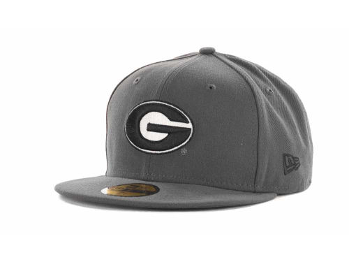 Georgia Bulldogs New Era 59FIFTY NCAA Graph BG Cap Hats