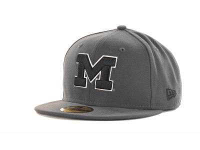Michigan Wolverines 59FIFTY NCAA Graph BG Cap Hats