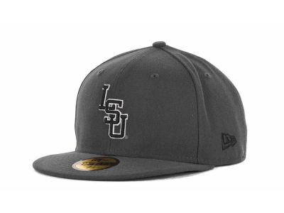 LSU Tigers 59FIFTY NCAA Graph BG Cap Hats