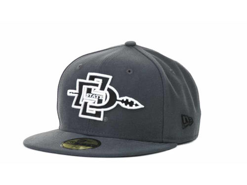 San Diego State Aztecs New Era 59FIFTY NCAA Graph BG Cap Hats