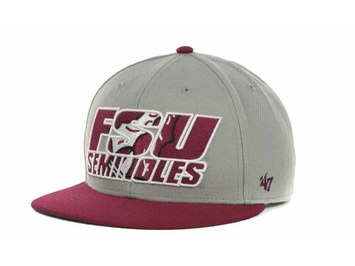 Florida State Seminoles '47 Brand NCAA The Defender Snapback Cap Hats
