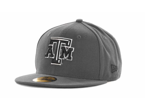 Texas A&M Aggies New Era 59FIFTY NCAA Graph BG Cap Hats