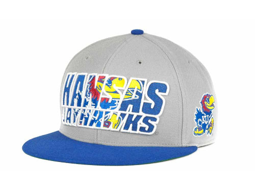 Kansas Jayhawks '47 Brand NCAA The Defender Snapback Cap Hats