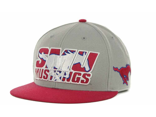 Southern Methodist Mustangs '47 Brand NCAA The Defender Snapback Cap Hats