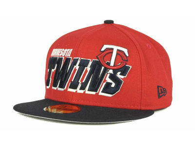Minnesota Twins MLB Fit It Back 59FIFTY Cap Hats