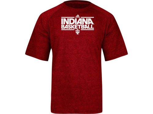 Indiana Hoosiers adidas NCAA On Court Practice Climalite T-Shirt