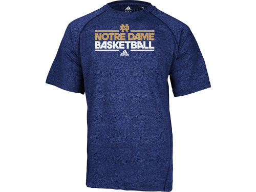 Notre Dame Fighting Irish adidas NCAA On Court Practice Climalite T-Shirt