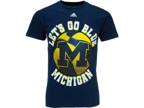 Michigan Wolverines adidas NCAA Style Points T-Shirt