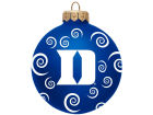 Duke Blue Devils Team Color Swirl Ornament 3