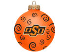 Oklahoma State Cowboys Team Color Swirl Ornament 3