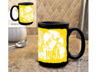 Iowa Hawkeyes 15oz Graffiti Mug Black Kitchen & Bar