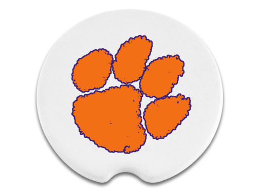 Clemson Tigers 2 Pack Car Coasters