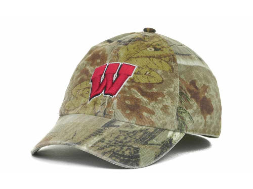Wisconsin Badgers '47 Brand NCAA Real Tree II Franchise Hats