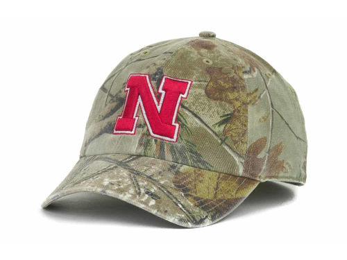 Nebraska Cornhuskers '47 Brand NCAA Real Tree II Franchise Hats