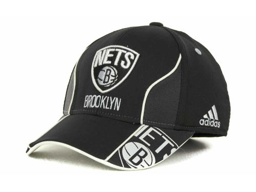 Brooklyn Nets adidas NBA Wingspan Cap Hats
