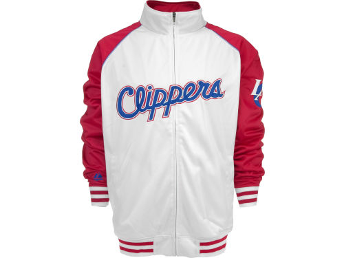 Los Angeles Clippers Profile NBA Raglan Track Jacket