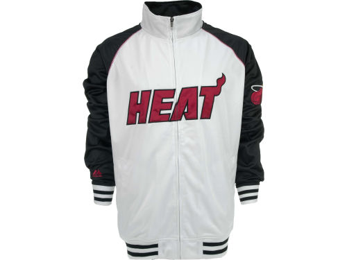 Miami Heat Profile NBA Raglan Track Jacket