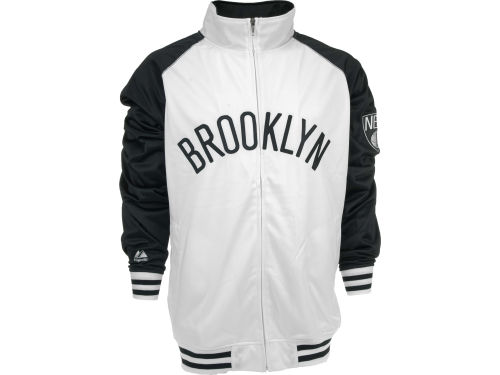 Brooklyn Nets Profile NBA Raglan Track Jacket