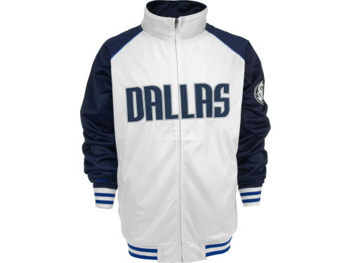 Dallas Mavericks Profile NBA Raglan Track Jacket