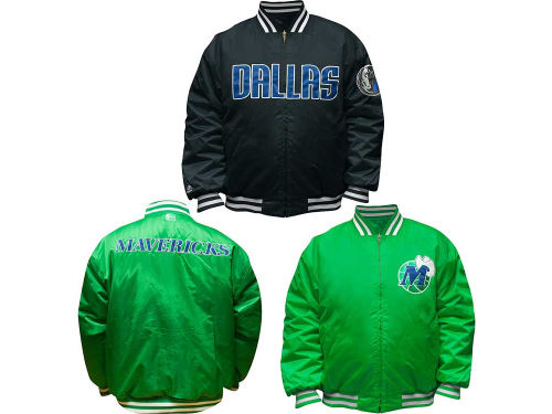 Dallas Mavericks Profile NBA Reversible Satin Jacket