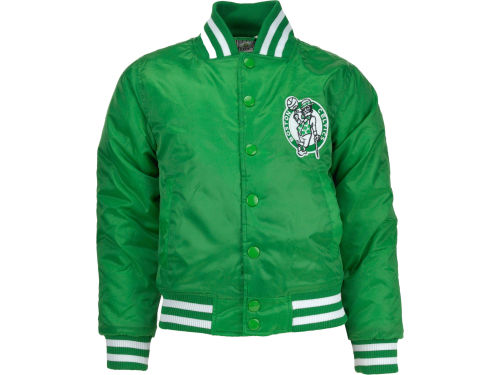 Boston Celtics Profile NBA Youth Satin Jacket