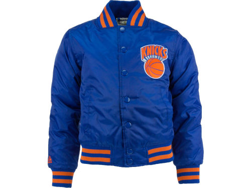 New York Knicks Profile NBA Youth Satin Jacket