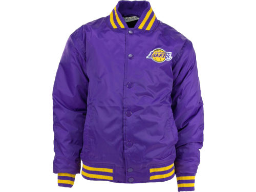 Los Angeles Lakers Profile NBA Youth Satin Jacket