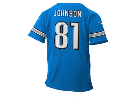 Detroit Lions Calvin Johnson Nike NFL Kids Game Jersey