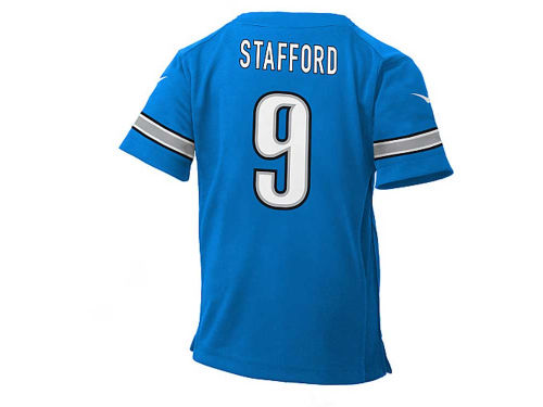 Detroit Lions Matthew Stafford Nike NFL Kids Game Jersey