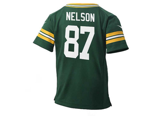 Green Bay Packers NELSON Outerstuff NFL Kids Game Jersey