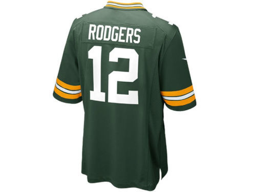 Green Bay Packers Aaron Rodgers Nike NFL Kids Game Jersey