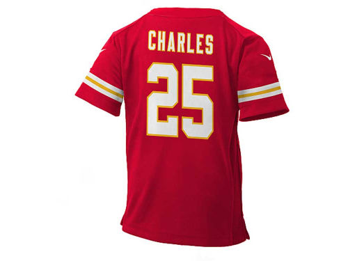 Kansas City Chiefs Jamaal Charles Nike NFL Infant Game Jersey