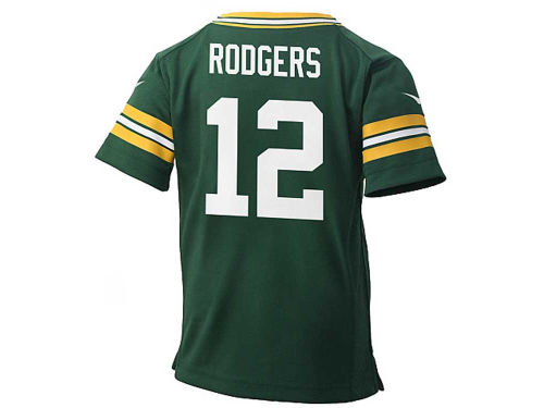 Green Bay Packers Aaron Rodgers Nike NFL Infant Game Jersey