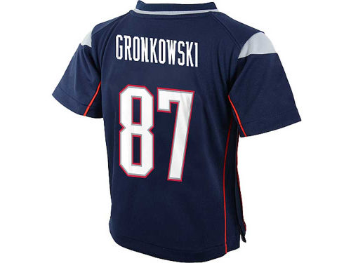 New England Patriots Rob Gronkowski Nike NFL Infant Game Jersey