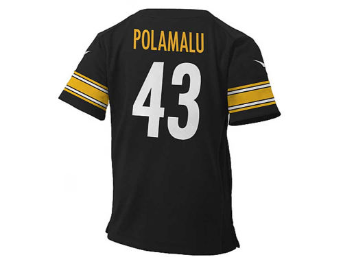 Pittsburgh Steelers Troy Polamalu  Nike NFL Infant Game Jersey