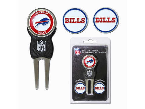 Buffalo Bills Team Golf Divot Tool and Markers