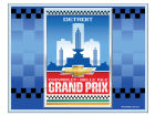Chevrolet Detroit Belle Isle Grand Prix Wincraft Racing Event Decal Auto Accessories