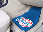 Los Angeles Clippers Car Mats Set/2 Auto Accessories