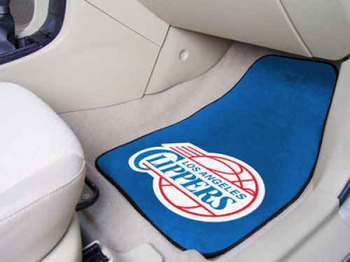 Los Angeles Clippers Car Mats Set/2