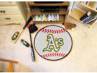 Oakland Athletics Baseball Mat Home Office & School Supplies